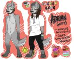 Adrian - Reference sheet by THEsquiddybum