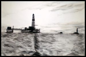 Oil 5 by Peacewise
