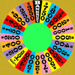 1990's round 1 wheel with Clarendon font by Chenglor55