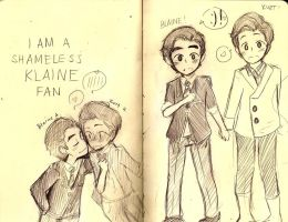 I'm a shameless KLAINE fan by puerilis-carmen