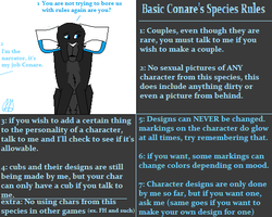 Conares Species Basic Rules by Kuna-Hero