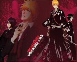 Unbreakable Bonds (Ichigo and Rukia) by PlayxDead88