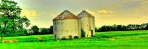 Country Field -HDR- Panorama by tripptaylor