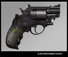 Anzug Model Revolver by BlackDonner