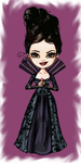 Regina - evil queen (tiny) by LadyMintLeaf