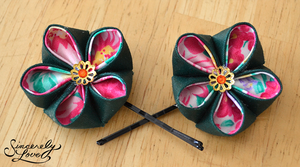 Royalty Kanzashi by SincerelyLove