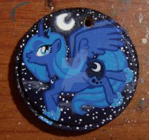 Princess Luna Keychain by DeeKary