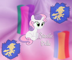 Sweetie Belle Android 960x800 WP by TecknoJock