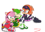 The Team - made by Triplet99c by FallenAngelCam7