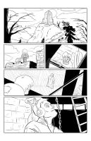 Mary Shelley's Frankenstein Page 2/4 Digital Inks by BrianLee88