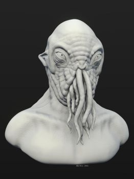 Ood Sculpt WiP by ManWithAJawharp