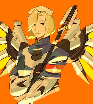 Old Ovw Mercy by PastelWing