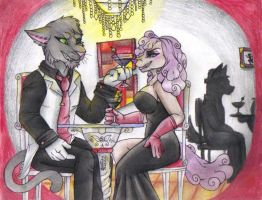 COMMISSION: Fine Wine by TheHuntingWolf
