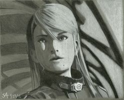 Samus' contemplations by PolarBear777