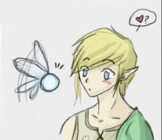 Link and Navi x3 by Mietschie