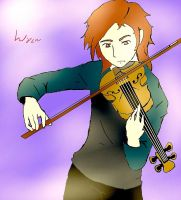 Violin Wren by 13thprotector