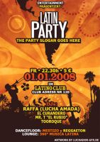 Latin Party Flyer by luchAdor-GFX