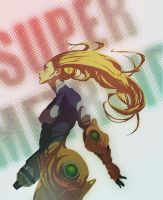 Super Metroid by Yaguete