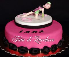 rhythmic gymnastic cake 1 by Dyda81