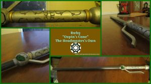 Rwby - Professor Ozpin's Cane by Enderparadox