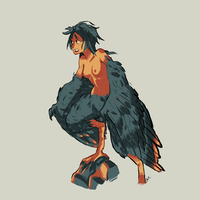 Day 1: Harpy by Natural-Gas