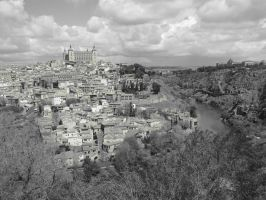 River in Toledo by eillahwolf