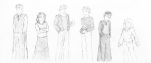 people sketches by Anavar