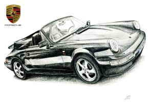 Porsche 911 (964) by SL-Cardesign