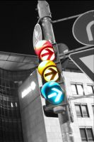 Traffic Lights by Blueberryblack
