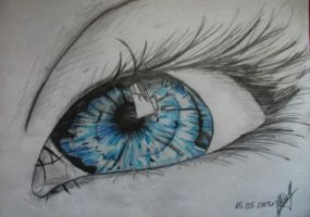 Blue eye by artmaker77