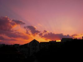 Sunset Over Berlin 97 by ErinM2000
