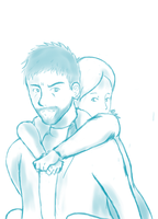 REQUEST: Piggyback on the Redfield by Septic-Art