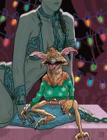 Salacious Crumb holds his Candy Cane by McQuade