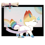[CLOSED] Sloxou Rainbow Auction by Miru-Adoptables
