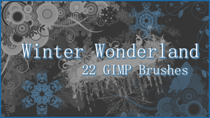 GIMP Winter Wonderland by Illyera