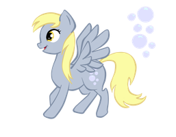 Derpy Hooves by CheleKat