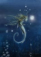 The deep sea faery by clv