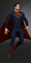 Superman - Dawn of Justice WIP by jordantheanimator