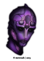 Female drell by MEWOAH