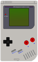 Pixel Art Game Boy by ADE-Syndicate