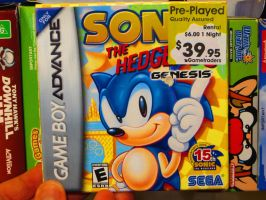 Sonic the Hedgehog Genesis! by ryanthescooterguy