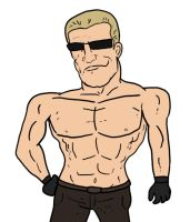 Another Shirtless Albert Wesker by Agent-Jin