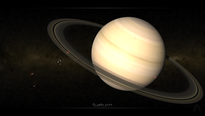 The Space Age - Saturn by BryanDesign