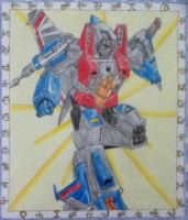 Transformers G1: Air Commander Starscream Finished by ElizabethPrime