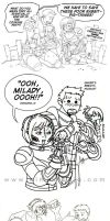 Alistair and Lady A Sillies by aimo