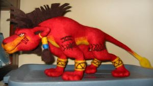 Red XIII by Lobster-Ball