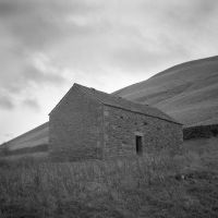 Abandoned Barn House in the Landscape by hornydevil666