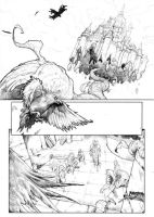 Gore issue# 06 page 12 pencil by alucard3999