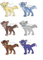 WTOS characters by nikkithedog3