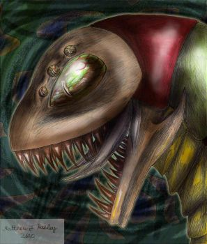 Insect Dinosaur by MattRasley